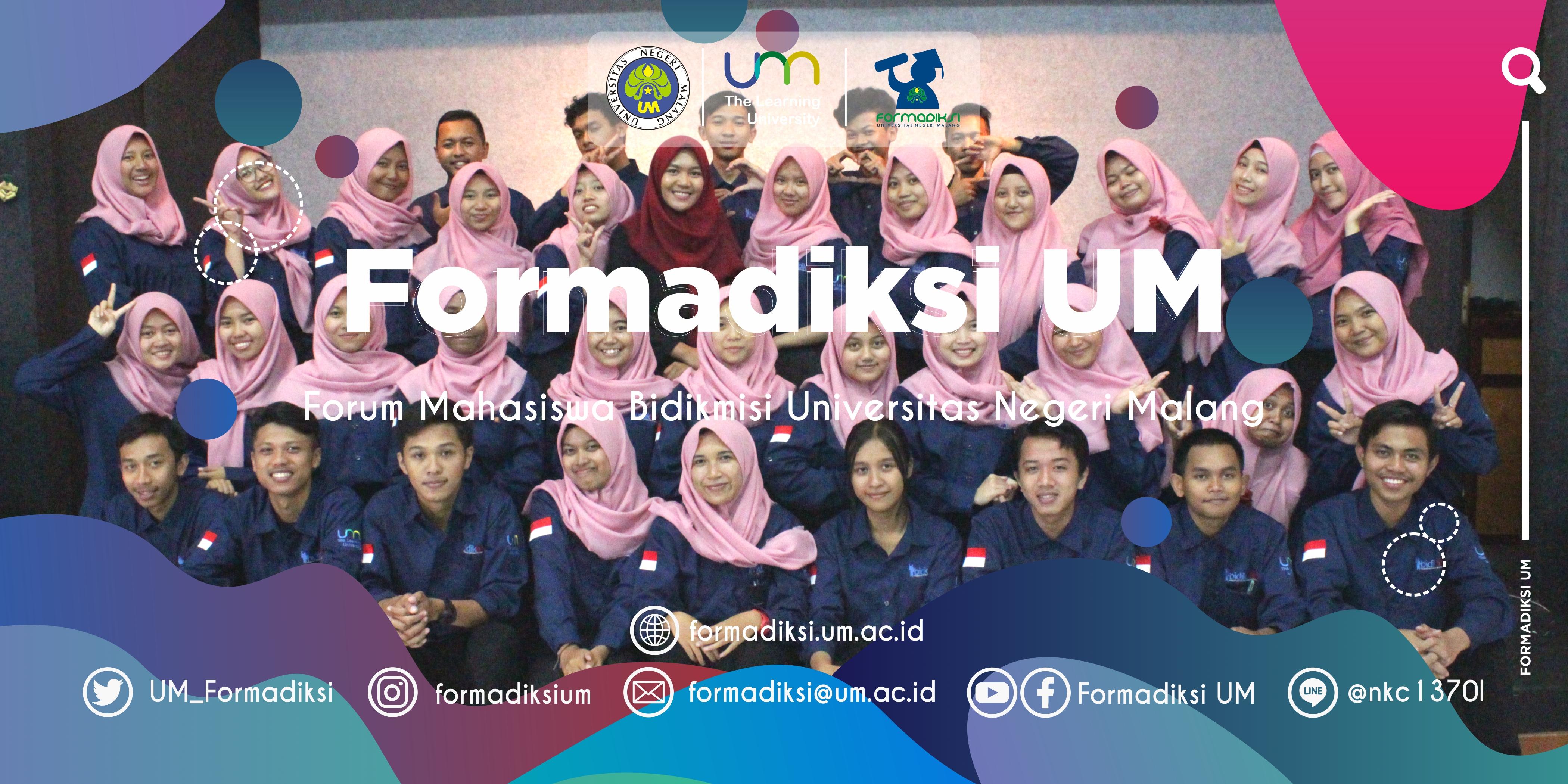 Pengurus Formadiksi UM 2019