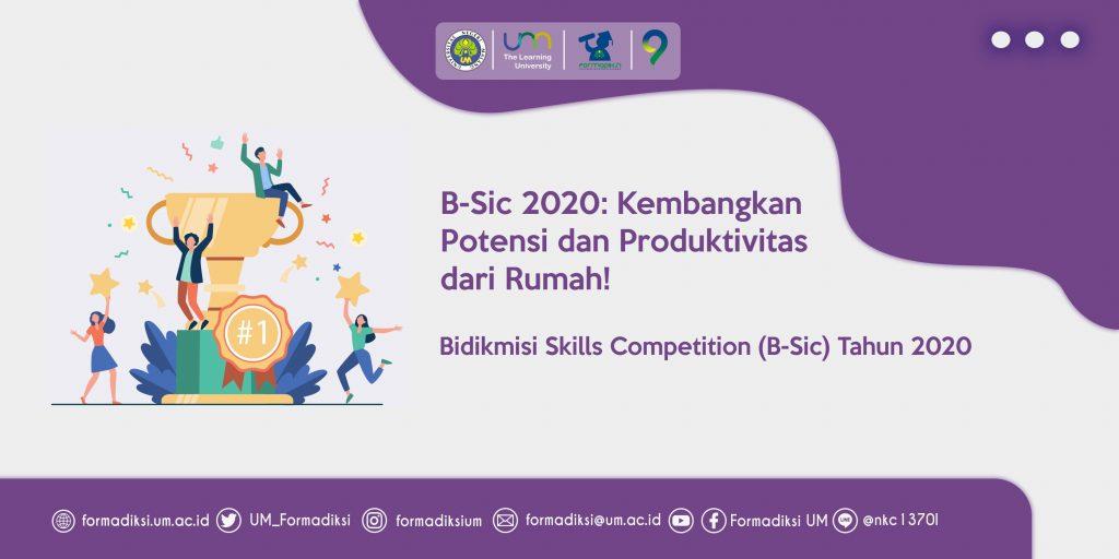 B-Sic 2020: Kembangkan Potensi dan Produktivitas dari Rumah!