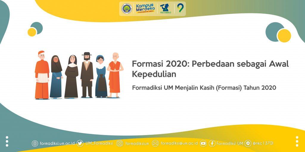 Formasi 2020: Perbedaan sebagai Awal Kepedulian