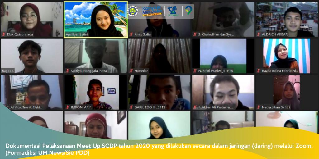 Mempererat Silaturahmi Mahasiswa Baru KIP K melalui Meet Up SCDP 2020