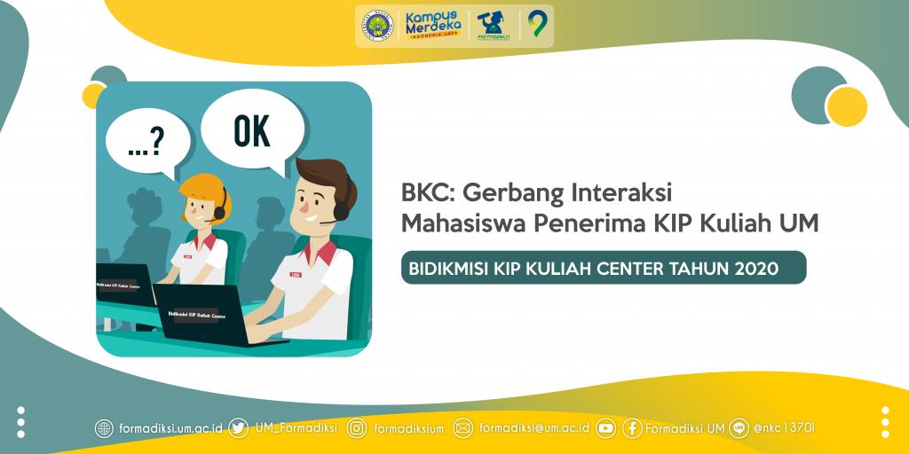 BKC: Gerbang Interaksi Mahasiswa Penerima KIP Kuliah UM