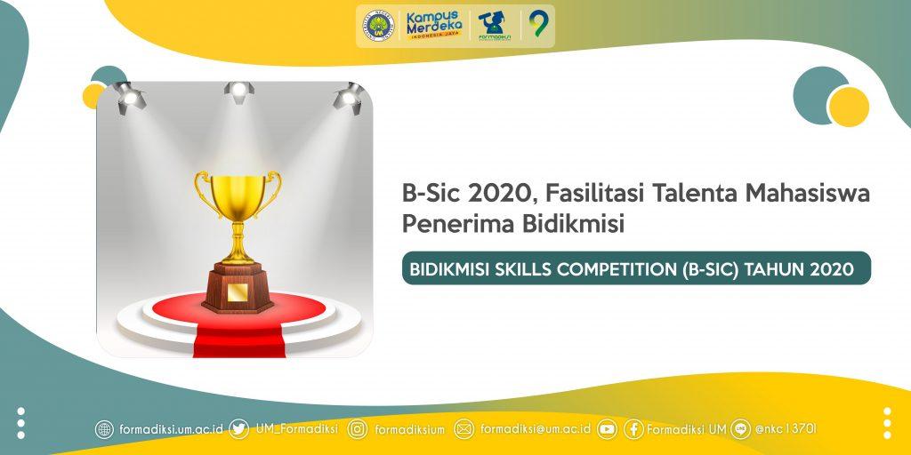 B-Sic 2020, Fasilitasi Talenta Mahasiswa Penerima Bidikmisi