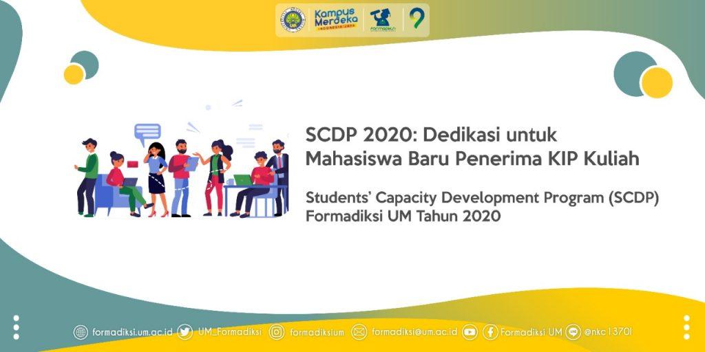 Nantikan SCDP 2020, Dedikasi untuk Mahasiswa Baru Penerima KIP Kuliah
