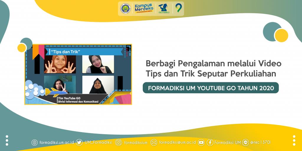 Berbagi Pengalaman melalui Video Tips dan Trik Seputar Perkuliahan