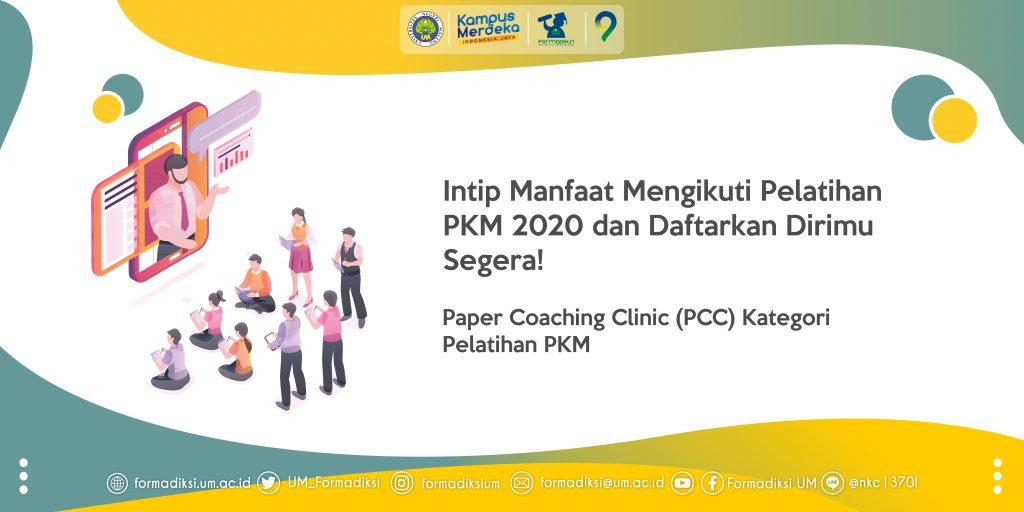 Intip Manfaat Mengikuti Pelatihan PKM 2020 dan Daftarkan Dirimu Segera!
