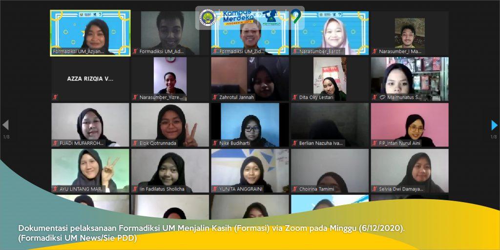 Kesan Usai Formadiksi UM Menjalin Kasih 2020, Lidwina: Keren!